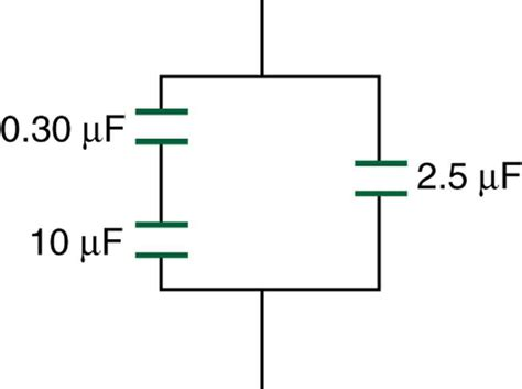 combination of resistors and capacitors capacitors in series and parallel 183 physics