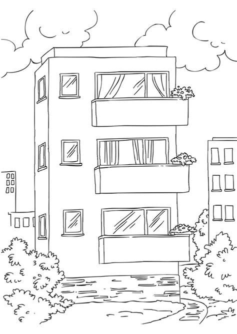 disegni appartamenti disegno da colorare appartamento cat 26228