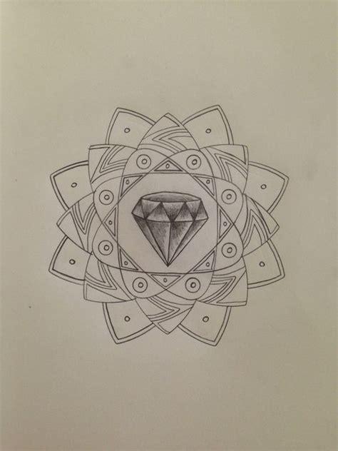 Tattoo Mandala Diamond | diamond mandala design tattoos pinterest mandalas