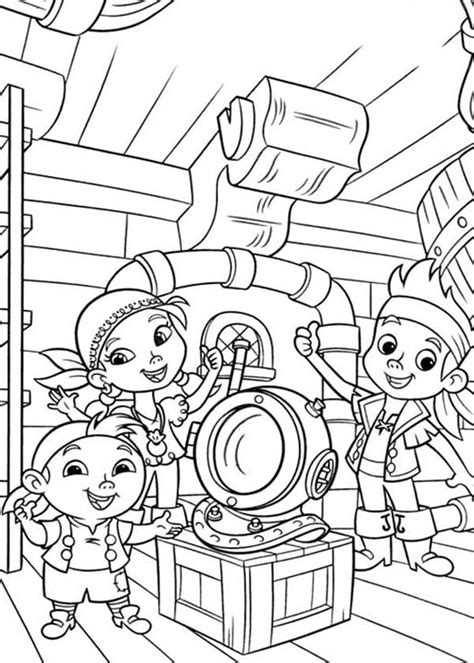 coloring pages for jake and the neverland pirates coloring pages for captain jake and the neverland pirates