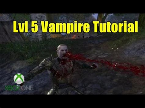 elder scrolls online tutorial xbox one elder scrolls online eso xbox one become a vire