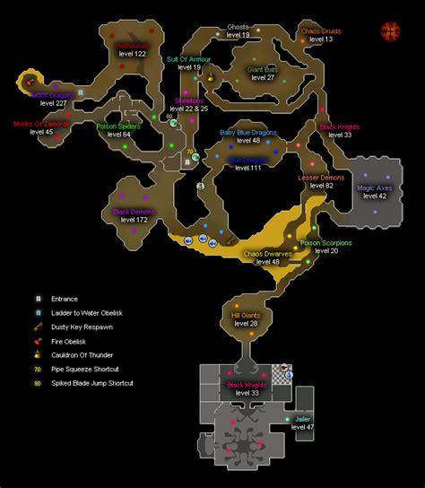 taverly dungeon osrs map newhairstylesformen2014 com taverley dungeon global runescape