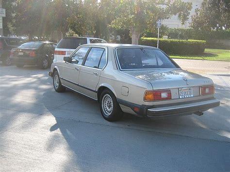 Bmw 733i 1984 Bmw 733i For Sale Pasadena California