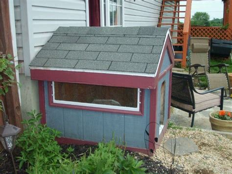 homemade dog house homemade dog house with window furniture i love pinterest