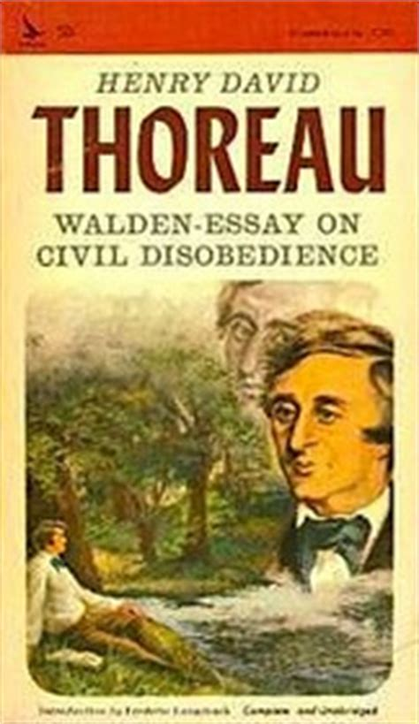 Henry David Thoreau Essays by Waldenessay On Civil Disobedience Henry David Thoreau Paperback Used Book Available For