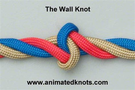 Decorative Knot Tying - two strand wall knot studio design gallery best design