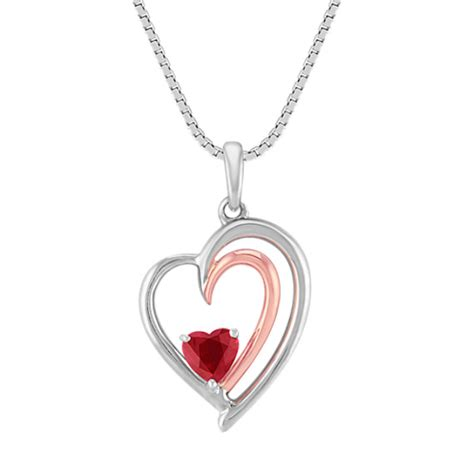 shaped st on jewelry shaped ruby sterling silver and 14k gold