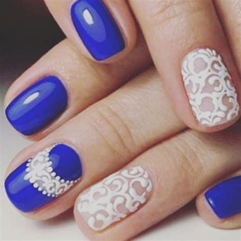 Royal Nails by Experience The Glamorous Style Of Royal Blue Nail Designs