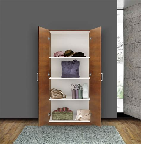 shallow storage cabinet with doors wardrobe cabinet lookup beforebuying
