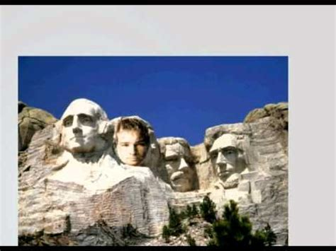 How To Put Your Face On Mt Rushmore Youtube Mount Rushmore Photoshop Template