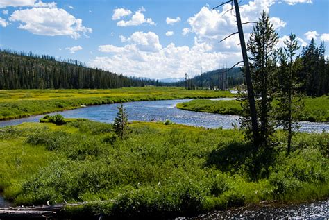 yellowstone landscape flickr photo