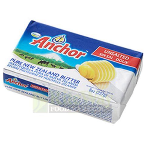 riteway food markets anchor butter unsalted 454g