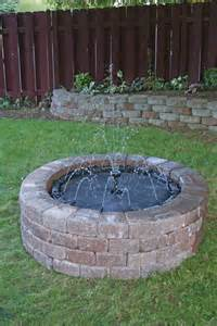 do it yourself fountains magical water fountains
