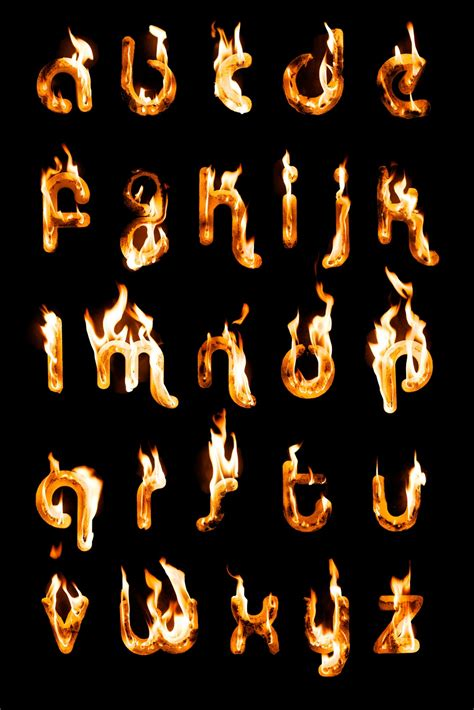 printable flame font 12 fire font flames fonts images fire flames letters