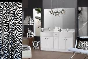 Zebra Print Bathroom Decor » New Home Design