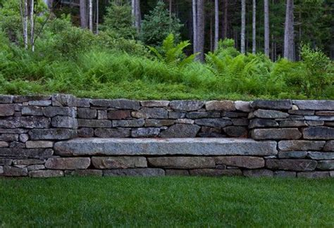 retaining wall bench stone retaining wall with built in bench rocks