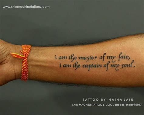 tattoo quotes for warriors quote for a warrior tattoo done by naina jain nains
