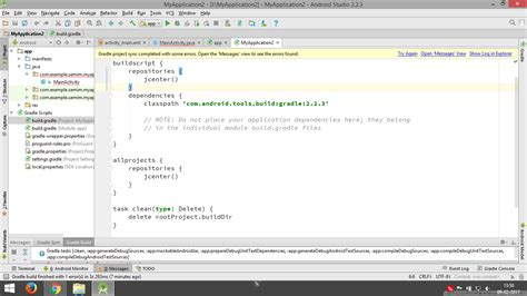 gradle android gradle sync error in android 2 2 3 stack overflow
