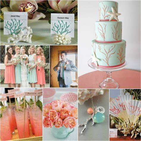 156 best images about Coral and Teal Wedding Ideas on
