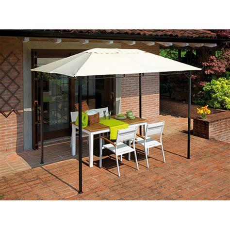 giardino con gazebo gazebo da giardino rettangolare 3x2 mt in ferro san marco