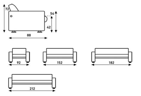 how long is a standard sofa typical sofa length standard couch dimensions thesofa