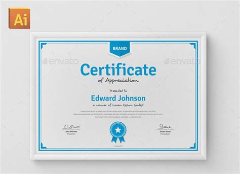 diploma design inspiration 35 best certificate template designs certificate