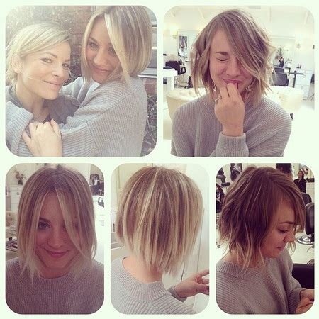kaley cuoco haircut 2014 kaley cuoco short hair 2014