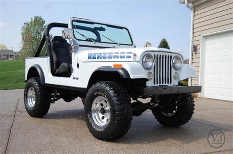 jeep cj7 renegade 1984 jeep cj7 renegade v3 jeep shop