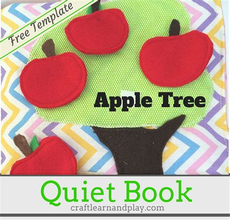 photo book themes apple quiet book ideas apple tree busy book pattern craft