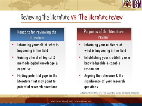 4 Types Of Literature Reviews by Types Of Literature Review