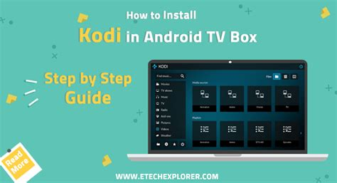 how to setup kodi on android how to install kodi on android tv box add ons kodi 17