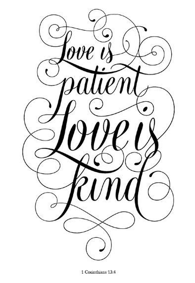 love is patient love is kind tattoo designs is patient is i this layout i