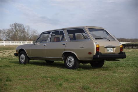 peugeot 504 wagon 1982 peugeot 504 diesel wagon 43k