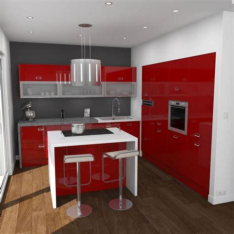 cuisine blanche avec ilot central cuisine blanche avec ilot central 1 cuisine