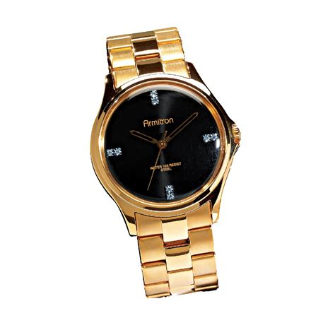 elgin mens gold with gold tone jewelry