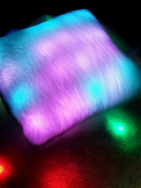 Light Up Pillows And Blankets light up blanket pillow brents cool