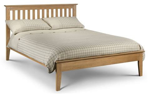 shaker bed abdabs furniture salerno shaker bed solid oak king size