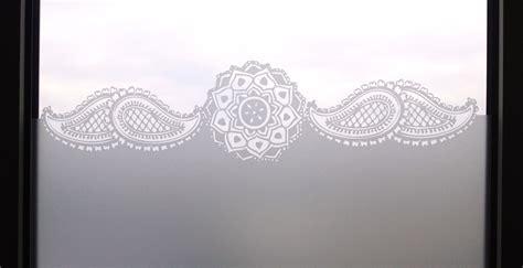 Fenster Sichtschutz Mit Ornament by Glasdekorfolie Wenn Glas Nicht Mehr Durchsichtig Sein