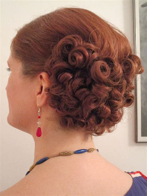 haircuts poland maine how i style my 1930s hair vintage gal