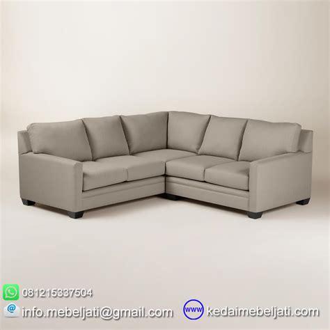 Sofa Minimalis Sudut sofa sudut minimalis sectional seri royalman bahan kayu