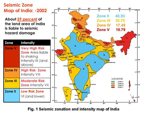 earthquake zone 2 what are areas prone to earthquakes both in india and
