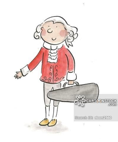 mozart biography cartoon violin case cartoons and comics funny pictures from