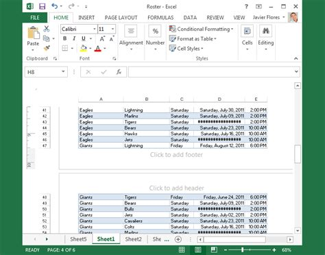 excel themes location worksheet views using templates in excel 2013