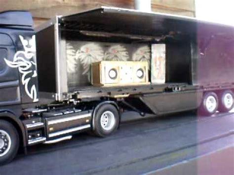 Tamiya Trailer tamiya truck met disco trailer