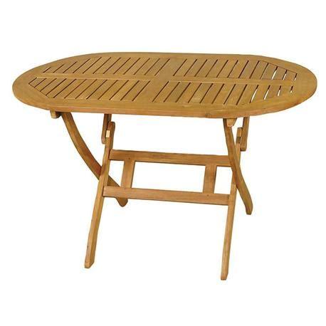 acacia wood folding table oval folding table acacia wood 70x120 cm