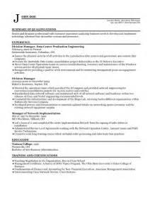 sle resume home maker