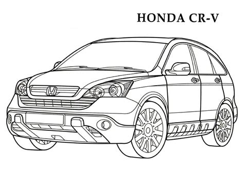 coloring pages honda cars honda coloring pages 11 honda kids printables coloring