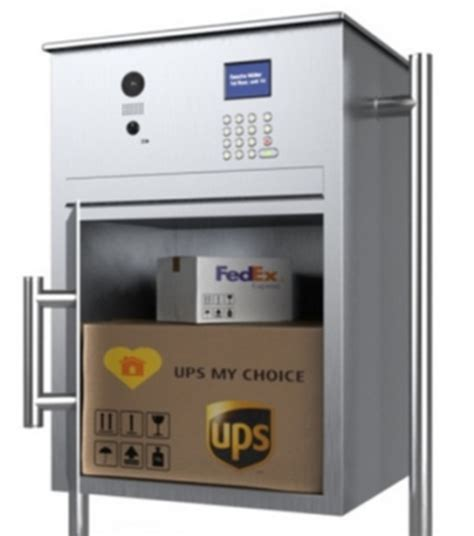 secure parcel box doorbird s new drop box