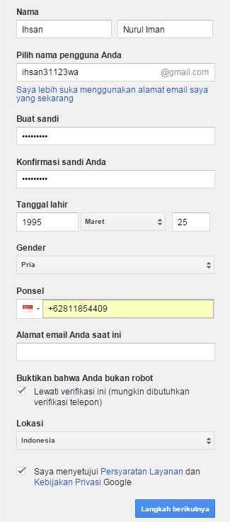 langkah langkah atau cara membuat email di gmail gmail cara membuat email baru di gmail yahoo dan hotmail