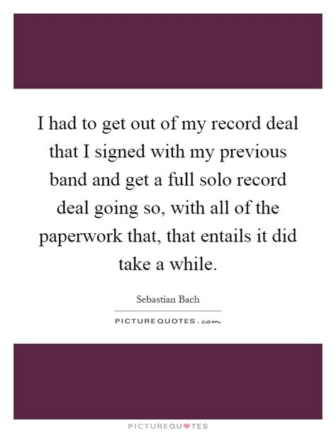 How To Get My Record I Had To Get Out Of My Record Deal That I Signed With My